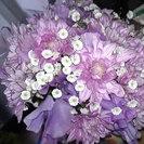 スーパーで買えるお花をちょっとアレンジ☆ 〜フラワー教室 ねぎの花〜