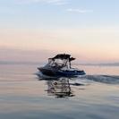 琵琶湖でウェイクボード♪ ウェイク用品レンタル無料!! ウェイクサ...