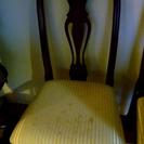 ダイニングテーブル&椅子5脚 無料で。