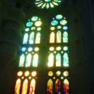☆ステンドグラスの美しい教会で演奏...