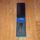 au F001 ブルー 携帯電話本体 白ロム用
