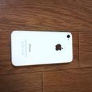 iPhone4s 16G   白  美品