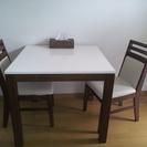 食卓&椅子2つ
