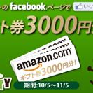 「いいね!」するだけ!Facebookページで3000円が当たるキ...