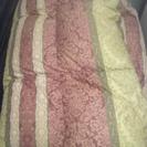 シングル掛け羽毛布団、ダブル掛け布団、毛布2組