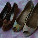 靴2足で80円♪