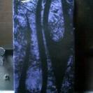 アイフオン4ハードケース カスタムペイント紫