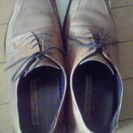 革靴☆茶☆26.5cm/ ビジネス...