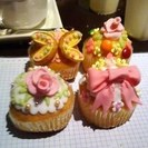 【終了】●美味しいカップケーキデコレーション教室(ドリンク付)