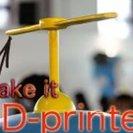 『親子でタケコプターのプロペラを作ろう!PCと3Dプリンタで製品化!』