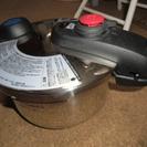【終了】●最終値下げ●ルミナスプラス両手圧力鍋3.5L 未使用 ●...