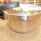 クレス 片手圧力鍋 2.5L 未使用 ●美品● 取り説コピーあり ...