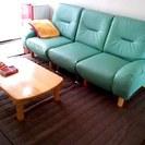 3人掛けソファー(一つ一つ分けても使用可) 無料