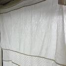 【交渉中】【売ります】サリュ!で購入したカーテン2枚セット