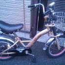 交渉中♪緊急!!子供自転車ミニキャデラックゴールド16インチ♪まだ...