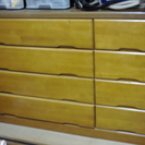 木製チェスト 無料で差し上げます。