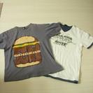 【終了】メンズTシャツ 2枚
