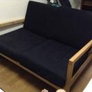 IKEA二人掛けソファお譲りします!