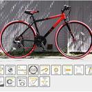 新品保証書付クロスバイクDOPPLEGANGER402Sanctu...
