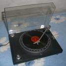 レコードプレイヤー型ラジオ