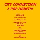 CITY CONNECTION J-POP NIGHT!!!