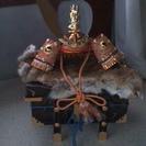 五月人形 兜、篝火等セット譲ります。