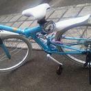 SHIMANO折りたたみマウンテンバイク美品!!