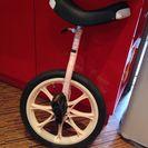 一輪車16インチ、ピンクです(o^^o)配送不可