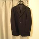 【美品】男性用3つボタンスーツ 黒【送料込み】