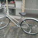 自転車 新品同様 通勤通学町乗りにぴったりのシティサイクル