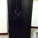 Haier BLACK 98L 2ドア さしあげます。