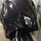 マジェスティ125 コマジェ 距離薄、タイヤ新品!フルカスタム