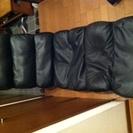 《終了しました》 黒 合皮 座椅子