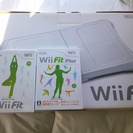 wii fit Plus+バランスwiiボード 中古品 箱付き
