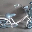 [お問い合わせありがとうございました]16インチ子供用自転車(青)