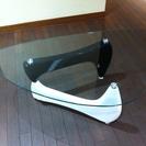 美品♪NOCE購入のガラステーブル