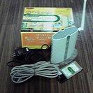 無線LANブロードバンドルータ 子機カードセット
