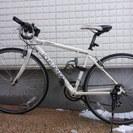 自転車(白、ルイガノ)差し上げます