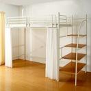 【引取り日限定】階段付きロフトベッド