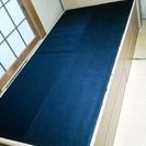 木製シングルベッド 収納・宮付き(必要があればマットレスも)