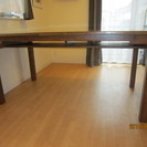 棚つきダイニングテーブル