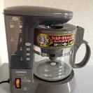 コーヒーメーカー譲ります。