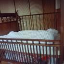 ☆お渡しできました☆ベビーベッド ベビー寝具一式 おまけの授乳クッ...