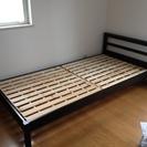 【2013年5月購入】ニトリ木製シングルベッド