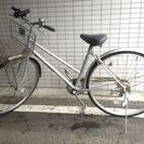 27型6段ギア付自転車(軽快車)あげます。
