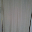 ニトリで購入 間仕切り用カーテン 2ヵ月使用