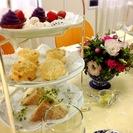 春のアフタヌーンティーパーティー ~イギリスの伝統菓子を楽しもう!~