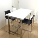 [商談成立]IKEA ダイニングテーブル&椅子×4脚