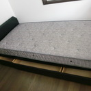 シングルベッド2台無料