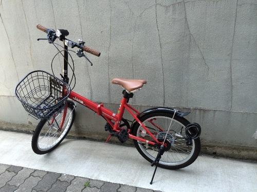 Jeep 赤 折りたたみ自転車 Jeep 赤 ...